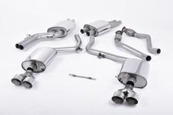 Milltek Cat-Back System - Audi S5 (B9) 3.0T Coupe/Cab (Non-Sport Diff Vehicles)