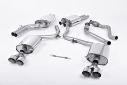 Milltek Cat-Back System - Audi S5 (B9) 3.0T Coupe (Sport Diff Vehicles Only)