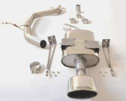 Milltek Cat-Back Exhaust System - Leon (Mk2) Cupra K1