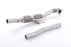 Milltek High Flow Downpipe Options - VW Beetle 2.0TSI (200PS)