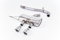 "Milltek 3.00"" 'Race' Cat-Back Exhaust - VW Golf Mk6 'R'"