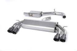 Milltek 'Non-Valved' Race Cat-Back Exhaust - VW Golf 'R' Mk7