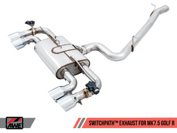 AWE Tuning Mk7.5 Golf 'R' Switchpath Exhaust