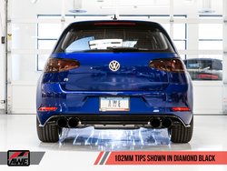AWE Tuning Mk7.5 Golf 'R' Track Edition Exhaust