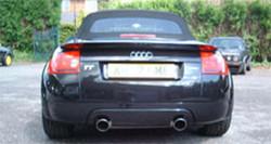 Genuine Audi TT Dual Exit Rear Valance