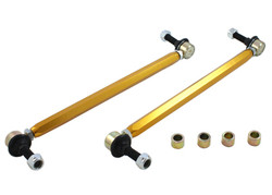 Whiteline Front Sway Bar Link Assembly - Heavy Duty Adj Steel Ball