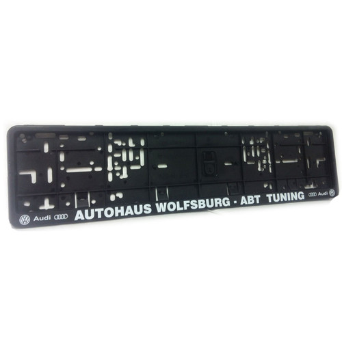 autohaus wolfsburg abt number plate surround awesome gti volkswagen audi group specialists. Black Bedroom Furniture Sets. Home Design Ideas