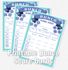 Bunco scoresheets - Printable