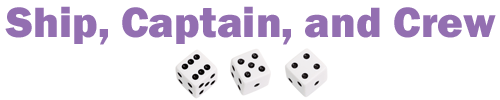 Ship, Captain, and Crew Dice Game Rules
