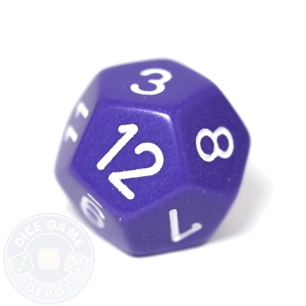 d12 - Purple