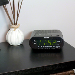 Alarm Clock Camera on Table