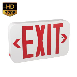 720P HD Exit Sign Hidden Camera