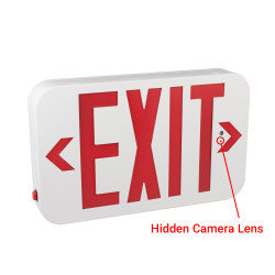 Hidden Pinhole Camera Lens