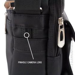 Nearly Invisible Pinhole Camera Lens
