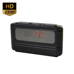 720P Alarm Clock Hidden Spy Camera