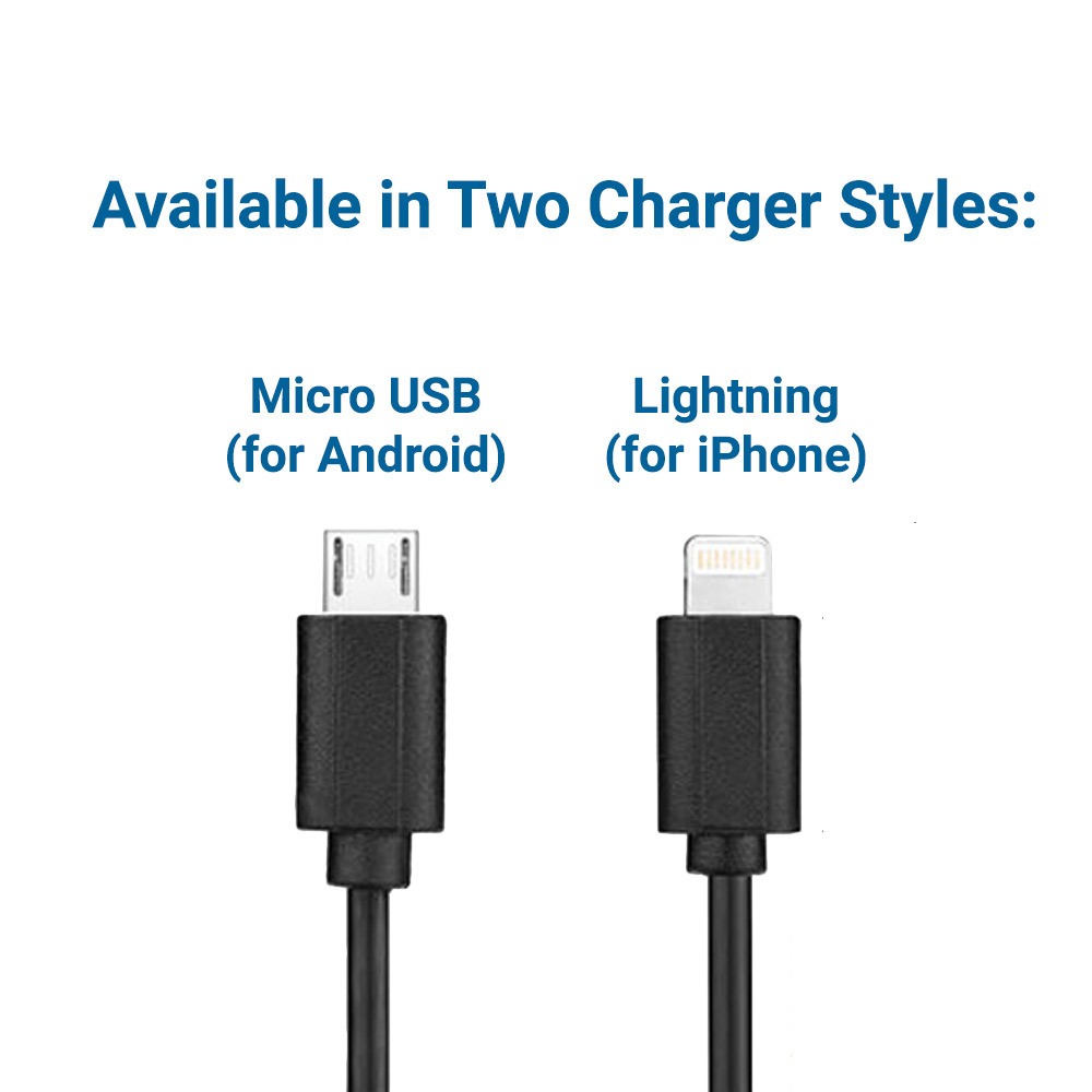 Two Charging Cable Styles