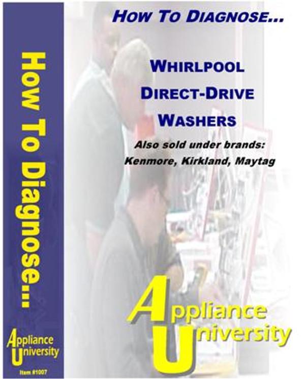 Repairing Whirlpol Direct-Drive Washer