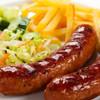 Bison bratwurst