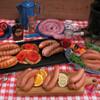 Italian brats and sausage