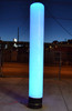 Blue Led Pillar