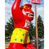 Red Gorilla Inflatable-side