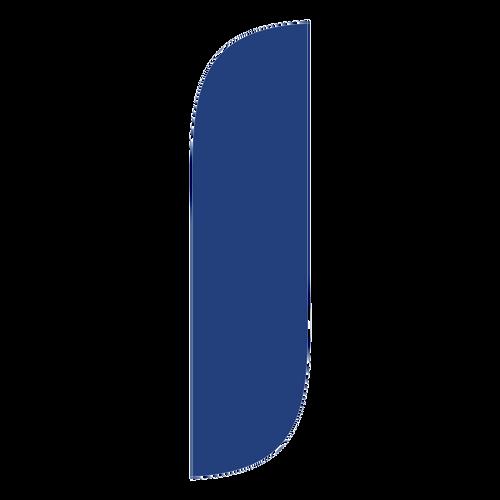 5ft Vibrant Blue Feather Flag