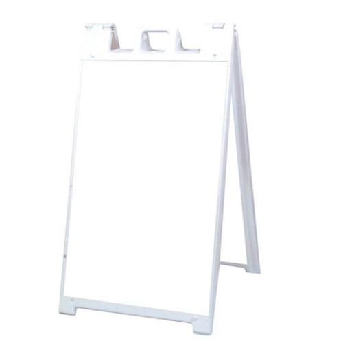 White Plastic A-Frame