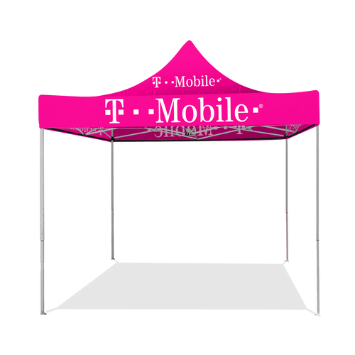 T-Mobile - 10ft x 10ft Pop Up Tent Canopy Complete Set Pink