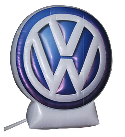 Giant Inflatable VW Logo - 20ft Tall