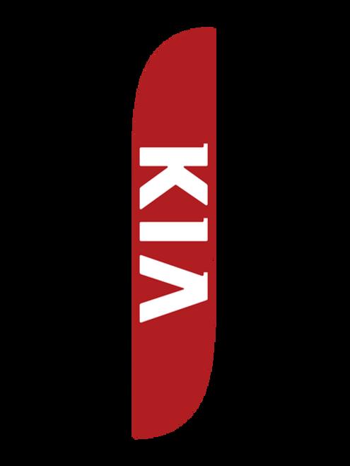 12ft Kia Feather Flag