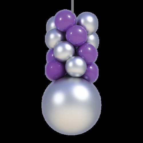 Indoor Balloon 4 Layer Ceiling Column Kit