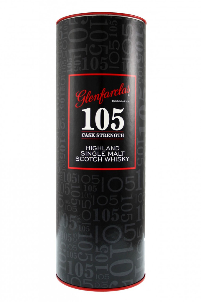 Glenfarclas 105 Cask Strength.Tube.