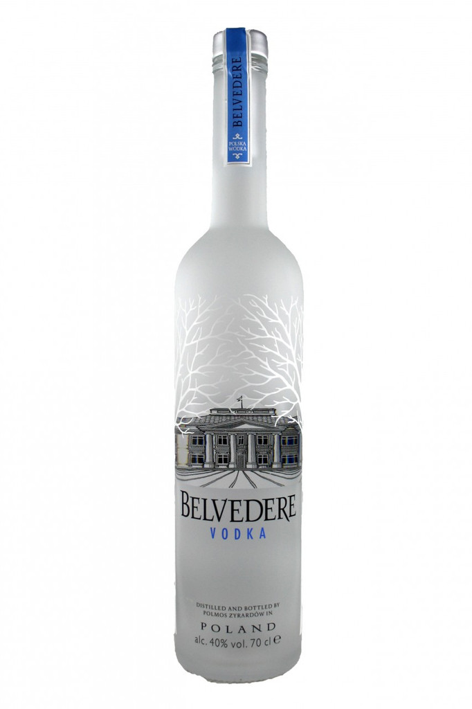 Belvedere's taste profile features a subtle sweetness and smooth, clean finish that only comes from using 100% Da^kowskie Gold Rye as the single-grain ingredient. Belvedere Vodka hails from the small town of Zyrardow in the Mazovian plains west of Warsaw, Poland. Following traditions dating back over 600 years, Belvedere is handcrafted in small batches to ensure superior quality meeting only the highest of standards. Belvedere is distilled four times, the optimum number for enhancing its unique, subtle character.