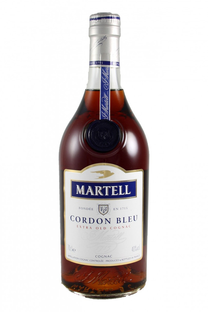 Martell Cordon Blue.