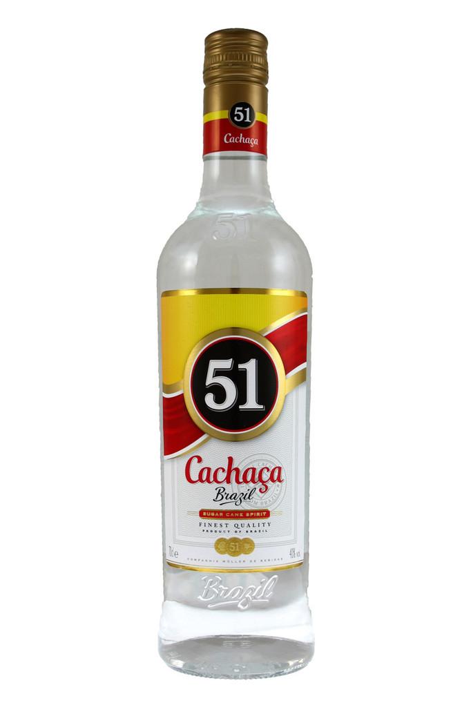 Cachaca 51 Prassununga Sugar Cane Spirit.