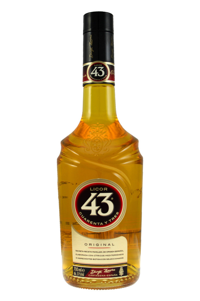 The name derives from the forty three ingredients that go to make up this fine liqueur.