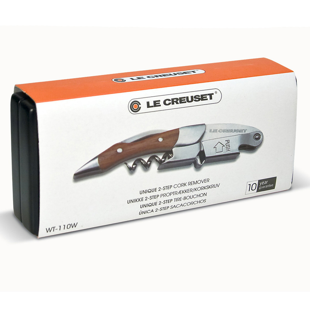 Waiters Wooden Cork Screw by Le Creuset WT110W