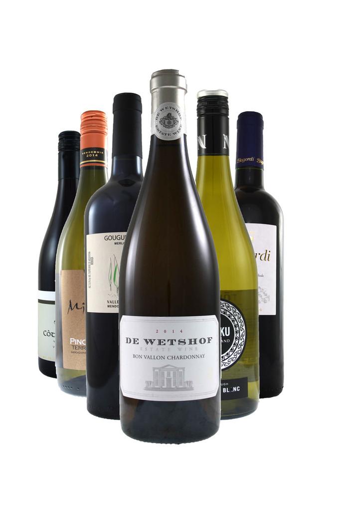 Vintage Favourites 6 Bottle Wine Selection Case.