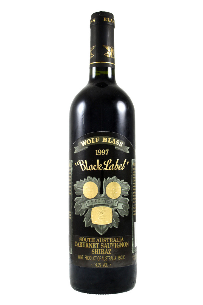 The 1997 Black Label Cabernet Shiraz is the 25th consecutive vintage of this outstanding Australian red wine.
