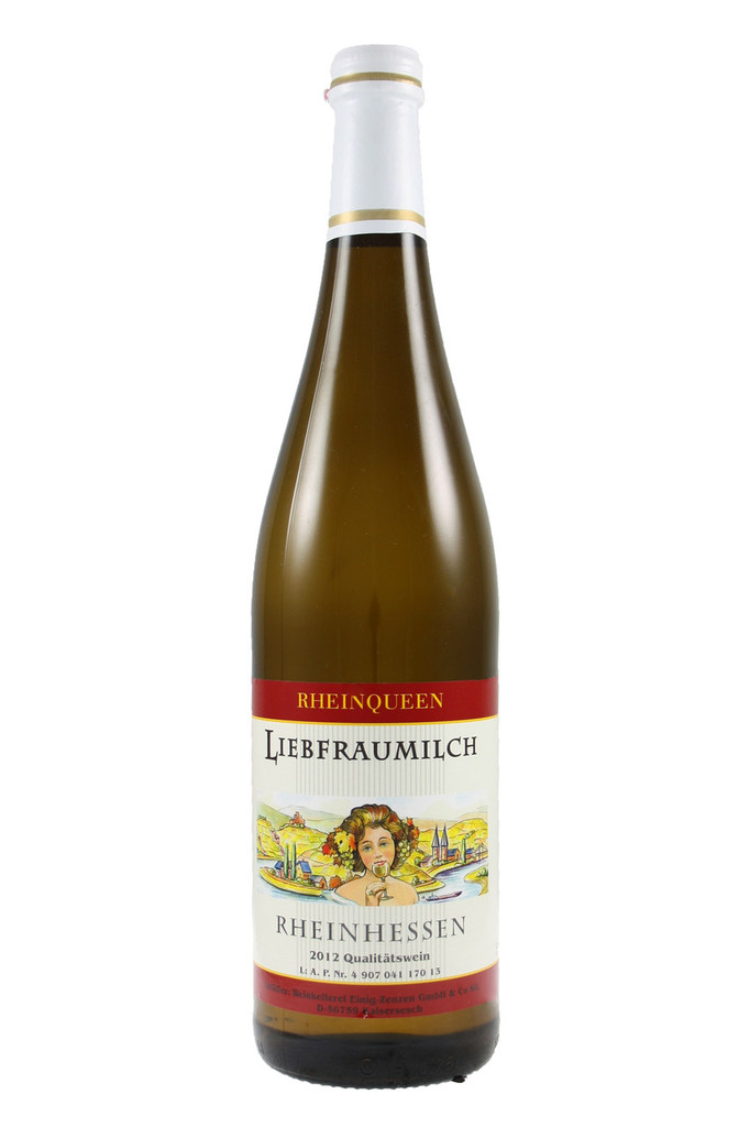 Quality white wine from the Rheinhessen area of Germany.