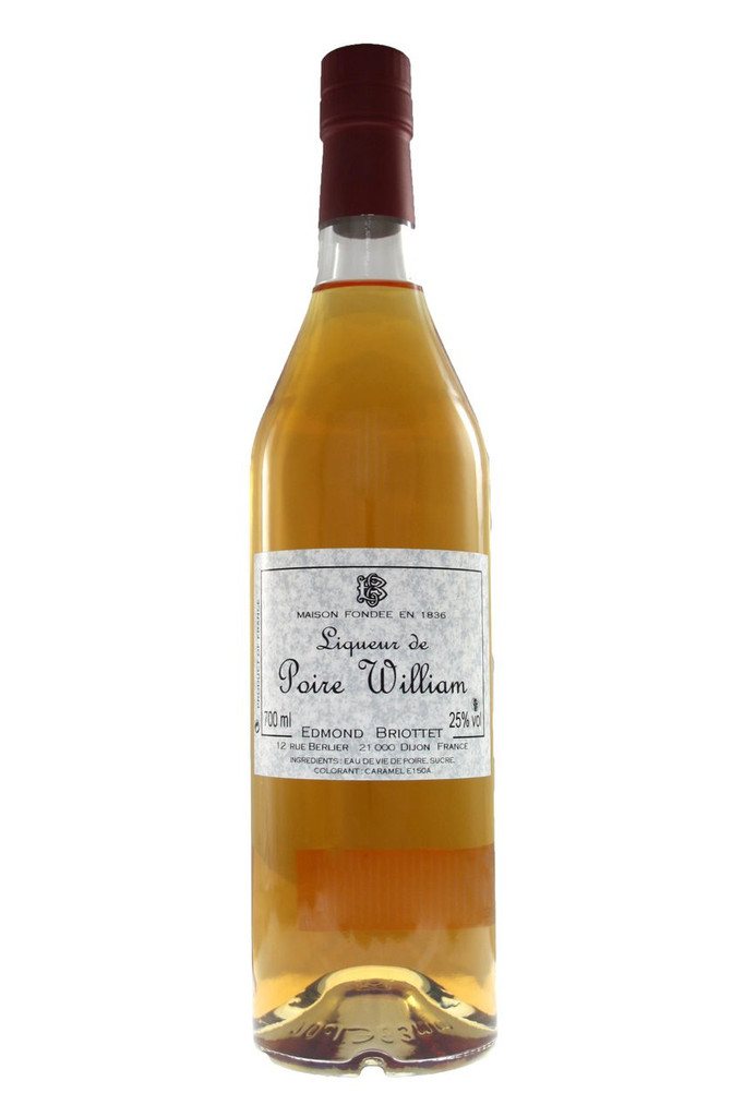 A special Poire William pear liqueur.