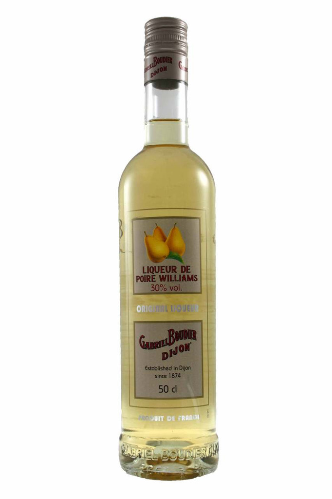intense liqueur with the flavour of the William's Pear