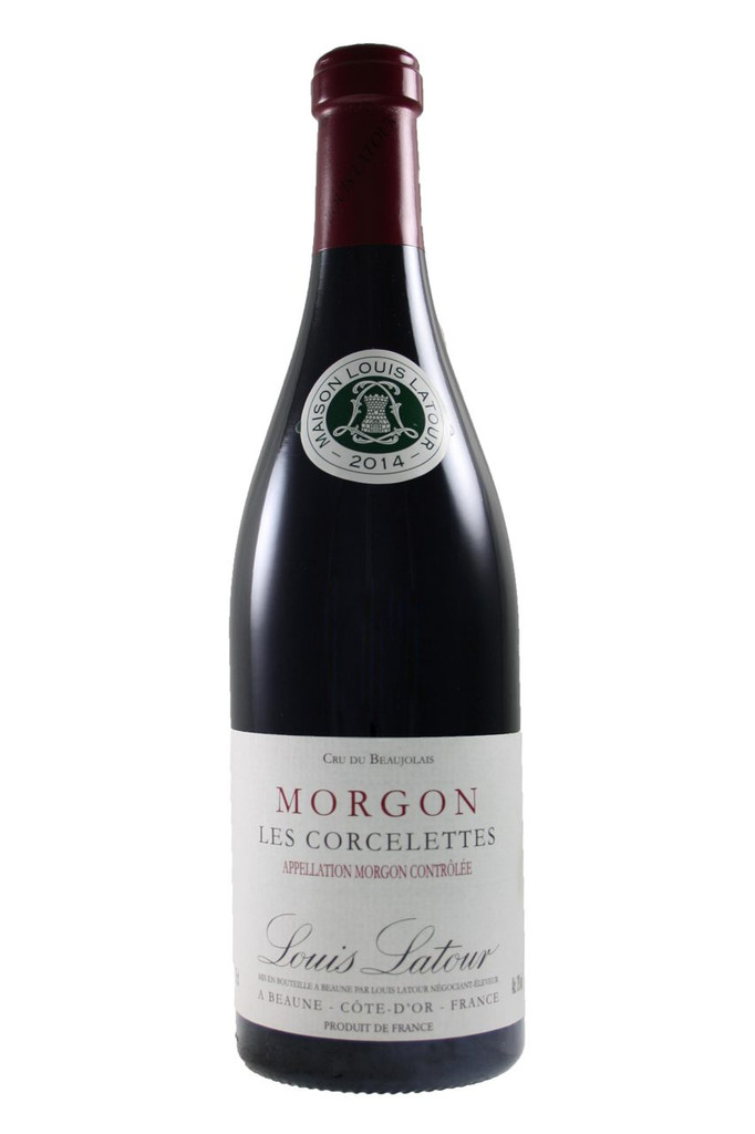 "The Morgon ""Corcelettes"" 2014 has ripe red fruit aromas. In the mouth it is very round and fruit-forward."