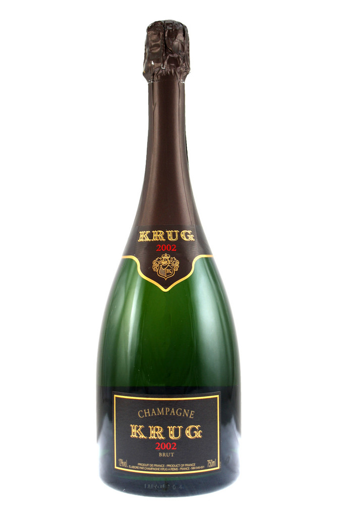 The 2002 harvest for Krug was marked by great homogeneity and superb balance.