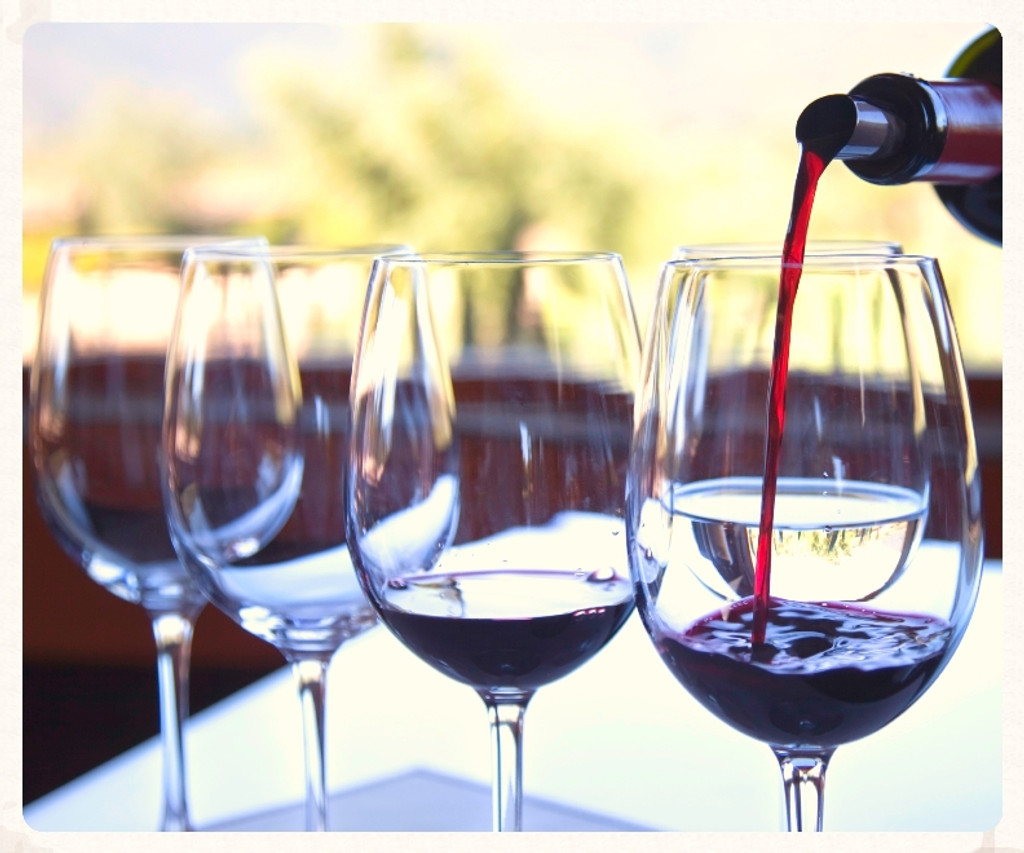 Wine, food and song in the luxurious surroundings of Nuthurst Grange.