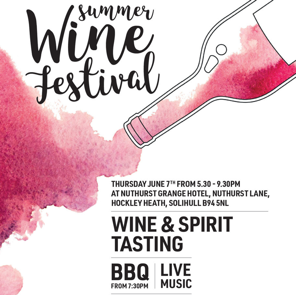 Summer Wine Festival 2018 Entry Ticket