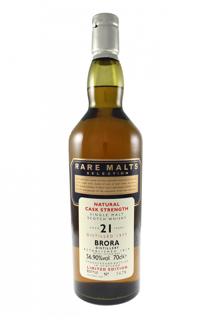 Brora Cask Strength 21 Year Old