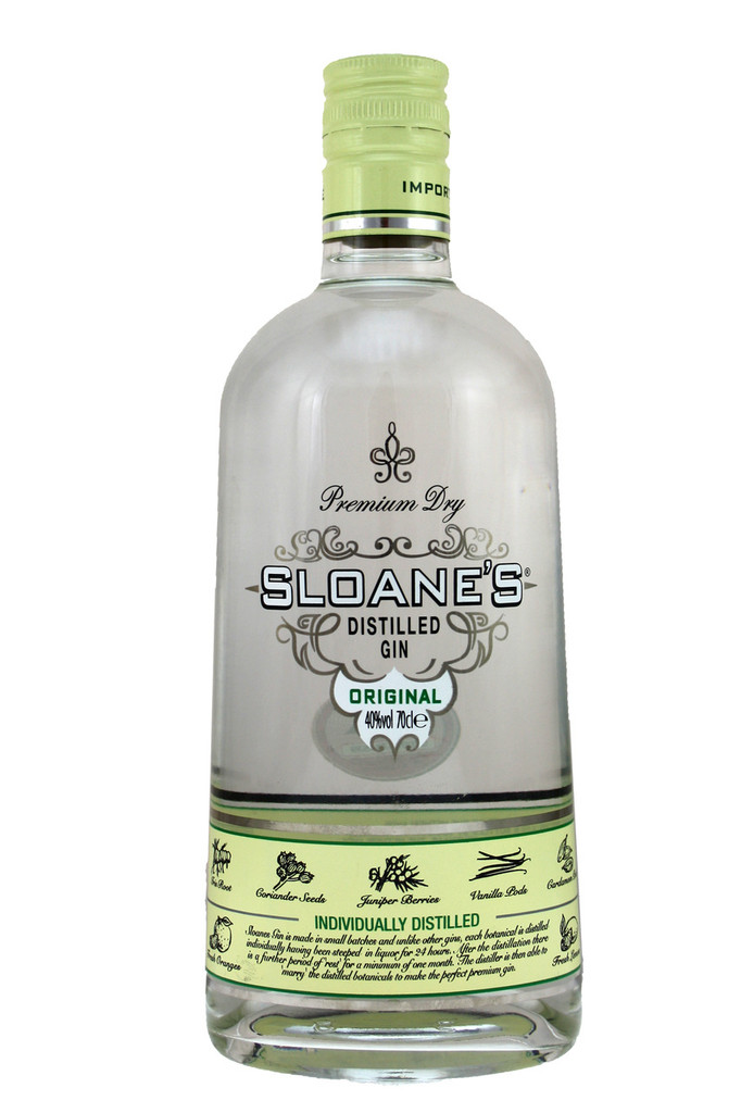 Sloane's was created with a brief to be simply the finest gin available.