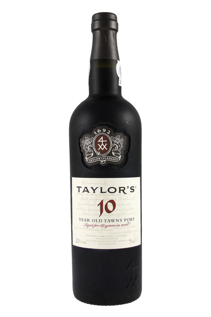 An exceptionally fine old tawny blend, aged for an average of 10 years in oak casks. Elegant and smooth, combining delicate wood notes and rich mellow fruit, it is bottled for immediate drinking. Excellent with soft cheeses such as brie; and a superb dessert wine, particularly with dishes made with coffee or almonds, Taylor 10 Year Old Tawny is delicious served lightly chilled at the end of the meal.