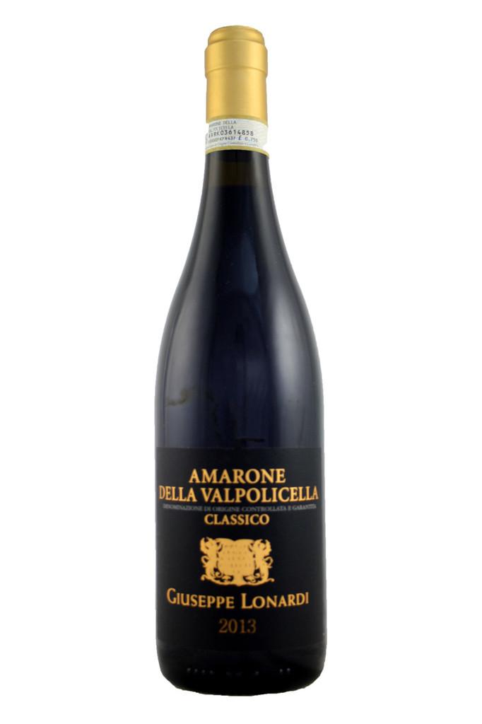 75% Corvina Veronese, 20% Corvinone and 5% Rondinella e Croatina